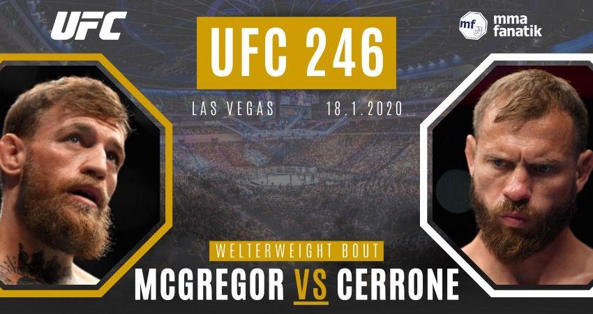 Bojovníci z domácej CZ/SK scény tipujú zápas McGregor vs Cowboy na UFC 246!