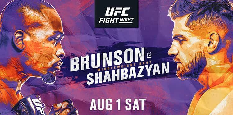 Výsledky UFC Fight Night: Derek Brunson vs Edmen Shahbazyan